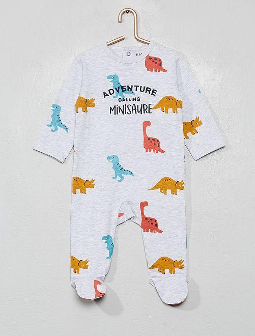 Pyjama imprimé                                                                                                                                                                                                                                                                             gris/dino