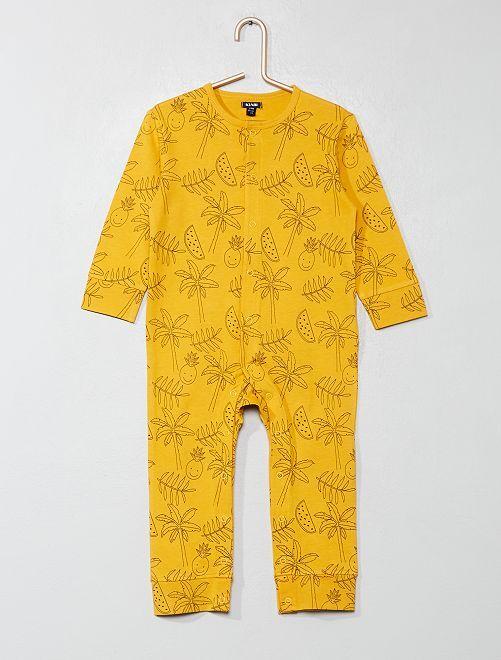 Pyjama imprimé                                         jaune Bébé garçon