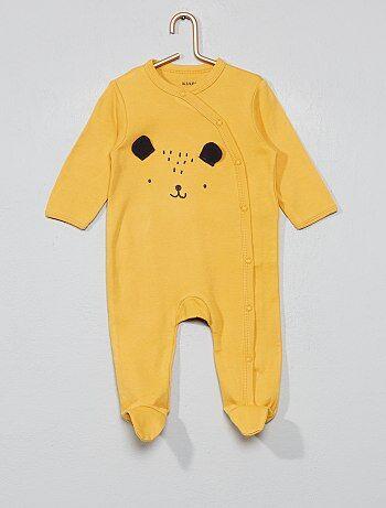 6b75bb6b9a43e Garçon 0-36 mois - Pyjama imprimé - Kiabi