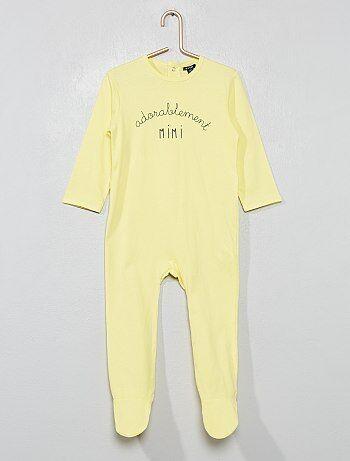 Pyjama imprimé  message  - Kiabi cc215a7bc4b