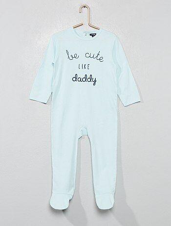 Pyjama pour bébé - velours 686998d78cc
