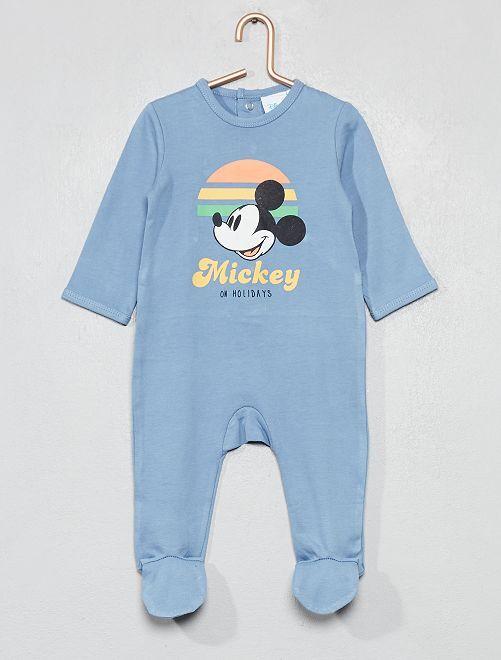 Pyjama imprimé 'Mickey'                                         bleu