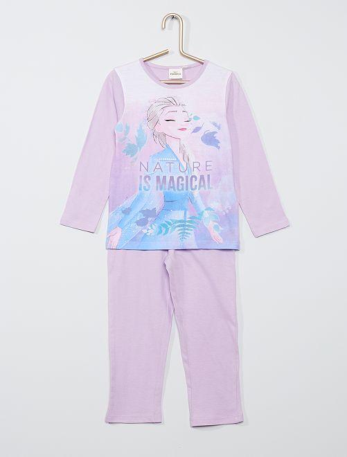 Pyjama imprimé 'Reine des Neiges'                                         violet