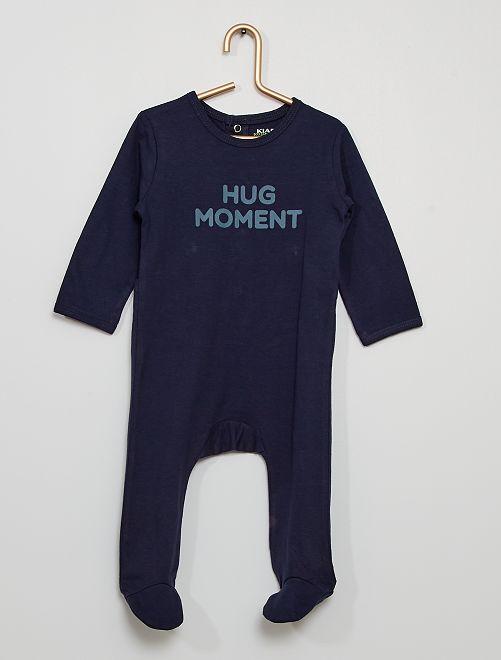 Pyjama jersey                                                                                         bleu