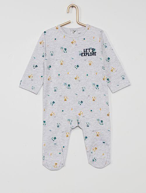 Pyjama jersey                                                                                                                                                                                                                                                                 gris