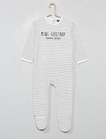 322612de7bc9a Garçon 0-36 mois - Pyjama jersey imprimé - Kiabi