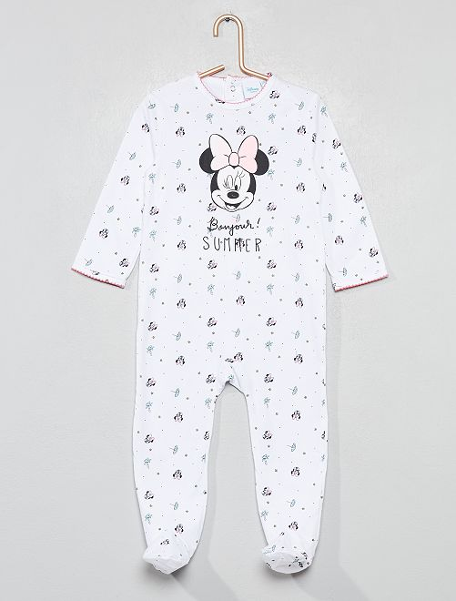 Pyjama jersey 'Minnie'                                         blanc minnie