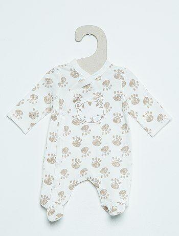 Pyjama léger en coton                                                                             beige Bébé garçon