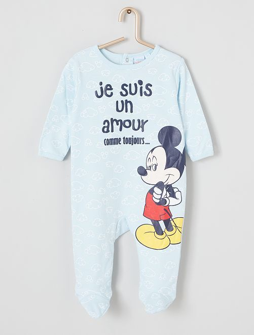 Pyjama léger 'Mickey'                             bleu