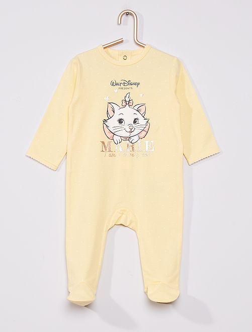 Pyjama 'Les Aristochats' de 'Disney'                                                     jaune