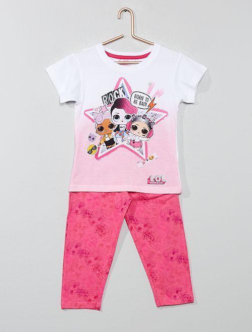 Pyjama 'LOL Surprise'                             rose fuchsia Fille