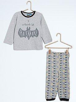 Garçon 0-36 mois Pyjama long 2 pièces 'Batman'