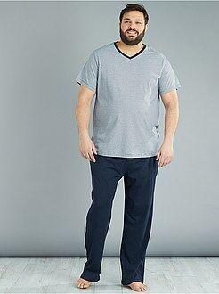 Pyjama long 2 pièces - Kiabi