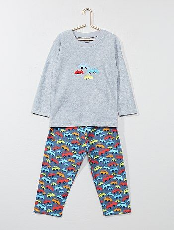 Pyjama long avec imprimé 'voiture' - Kiabi