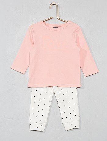 Pyjama long en coton bio