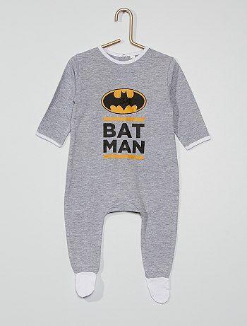 Pyjama long en jersey 'Batman'