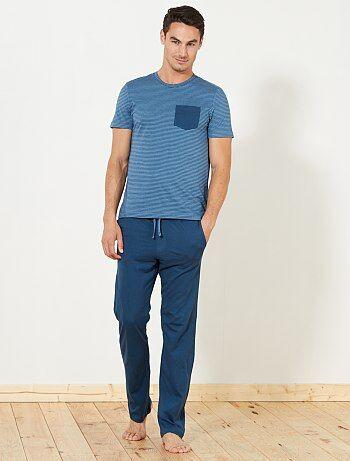 Pyjama long en jersey - Kiabi