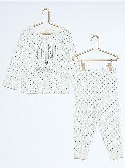 Fille 3-12 ans Pyjama long en jersey imprimé