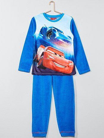 Pyjama long en polaire 'Cars' de 'Disney' - Kiabi