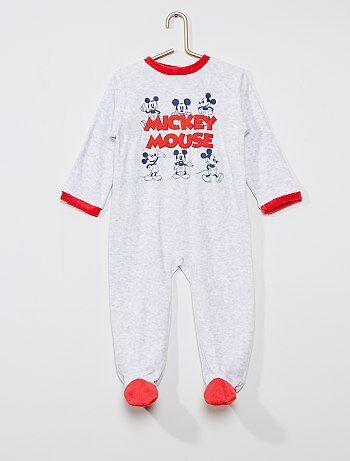 Pyjama long en polaire 'Mickey Mouse' de 'Disney'