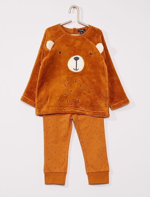Pyjama long en polaire                                                                 ours