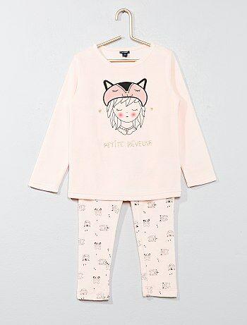 Pyjama long en velours