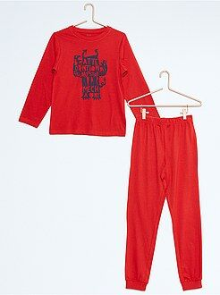 Pyjama, peignoir - Pyjama long imprimé