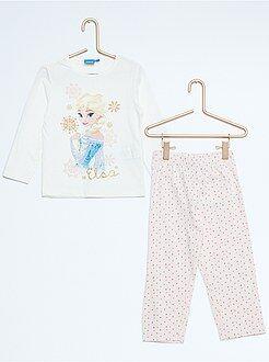 Pyjama long imprimé 'Reine des Neiges'