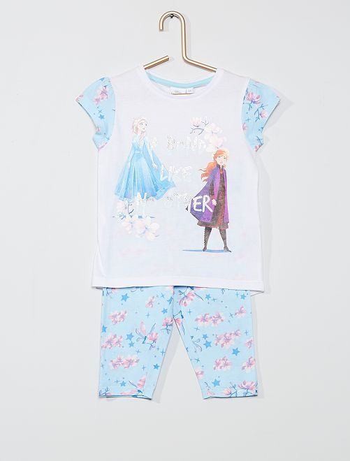 Pyjama long  'La Reine des neiges 2'  'Disney'                     bleu/blanc