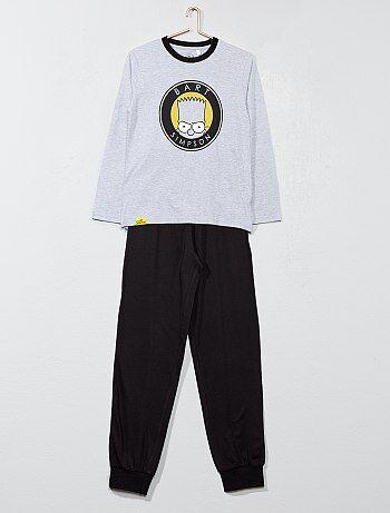 Pyjama long 'les Simpsons' - Kiabi