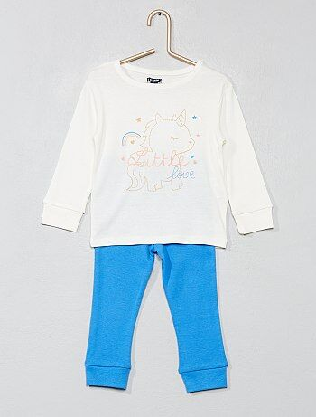97fc52242b54e Pyjama long  licorne  - Kiabi