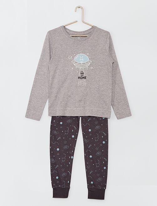 Pyjama long luminescent                                         bleu