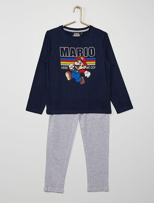 Pyjama long 'Mario'                             BLEU