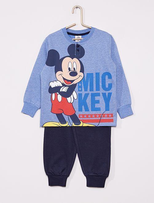 Pyjama long 'Mickey'                                         bleu/marine