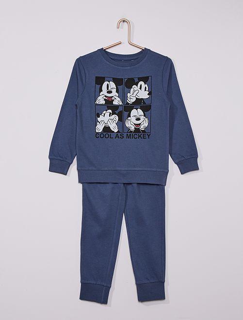 Pyjama long 'Mickey' éco-conçu                             bleu
