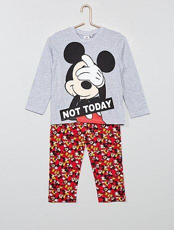 166064524a1b6 Soldes pyjama long enfant garçon, pyjama pantalon & manches longues ...