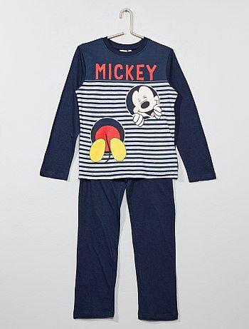 Pyjama long 'Mickey Mouse' - Kiabi