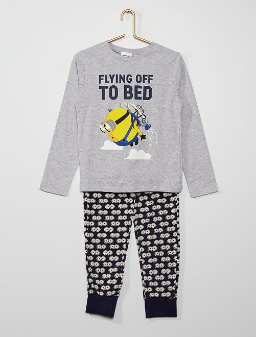Pyjama long 'Minions'                             gris