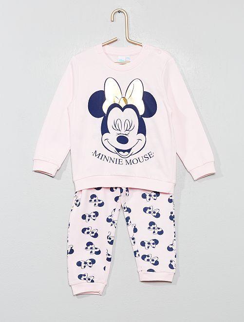Pyjama long 'Minnie Mouse'                                         rose