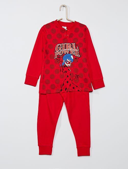 Pyjama long 'Miraculous'                             rouge