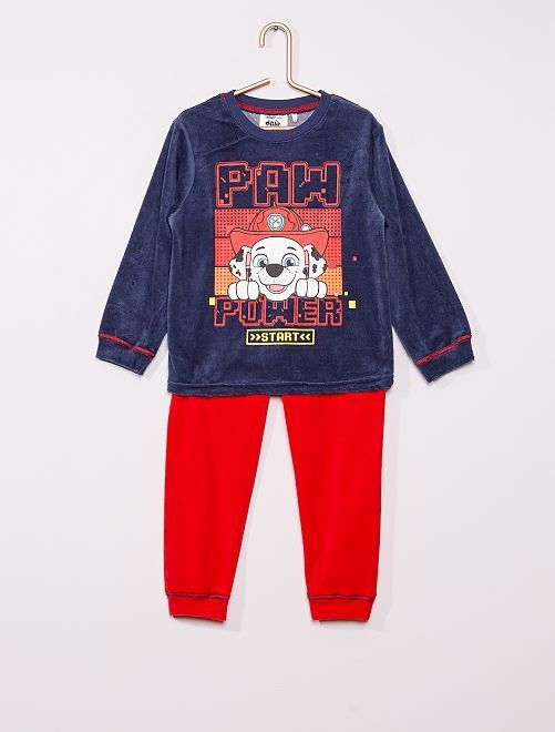 Pyjama long 'Pat'Patrouille'                                         bleu/rouge