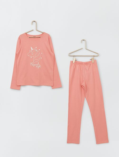 Pyjama long                                                                                         rose