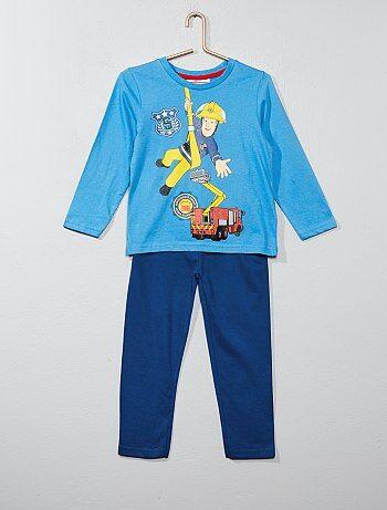 Pyjama long 'Sam le pompier' - Kiabi