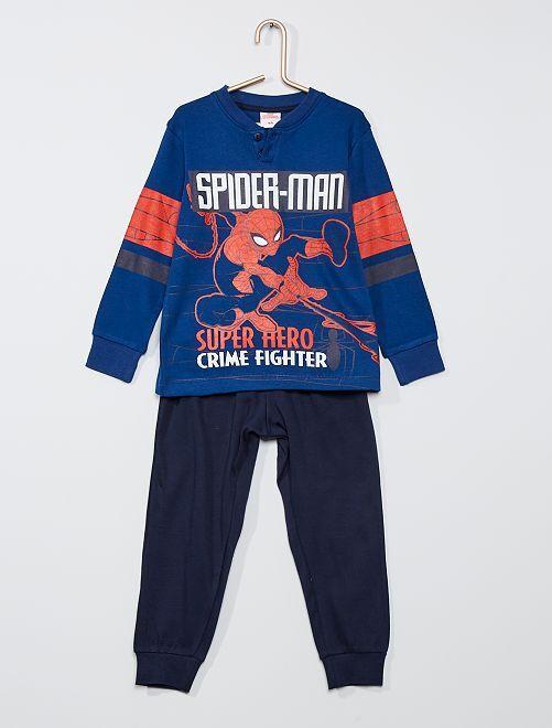 Pyjama long 'Spider-Man'                                         bleu/marine