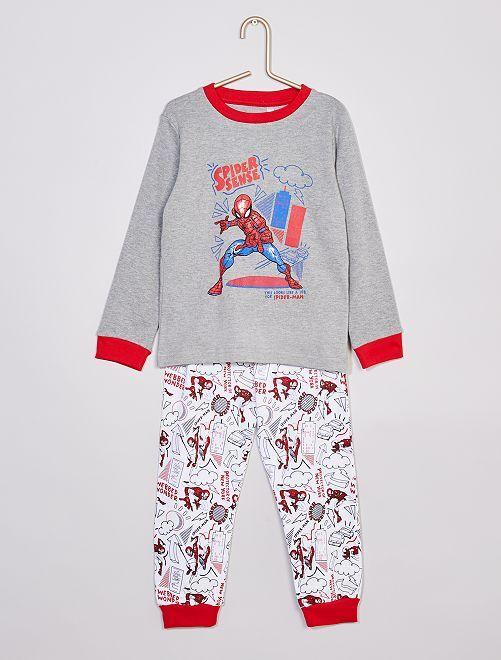 Pyjama long 'Spider-Man'                             gris chiné