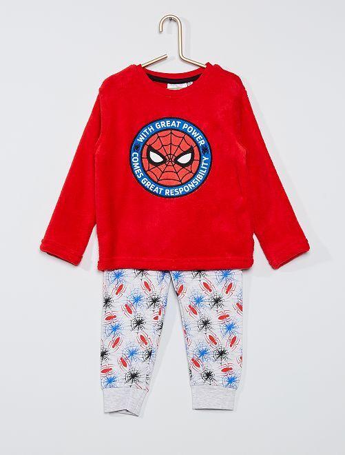 Pyjama long 'Spider-Man'                                         rouge/blanc
