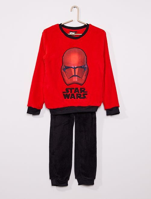 Pyjama long 'Star Wars'                             rouge/noir