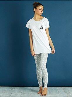 Lingerie du S au XXL - Pyjama long 'StarWars' - Kiabi