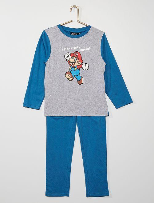 Pyjama long 'Super Mario'                             bleu