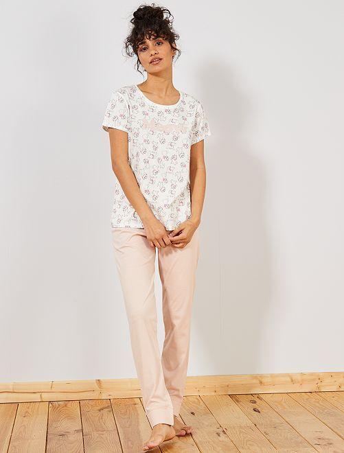 Pyjama 'Marie' des 'Aristochats'                                                                             rose